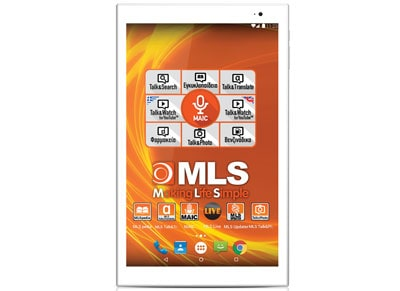 "MLS Spin 10.1 - Tablet 10.1"" 16GB Λευκό tablets   αξεσουάρ   tablets"