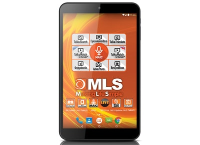 "MLS Ebon - Tablet 8"" 16GB Μαύρο"