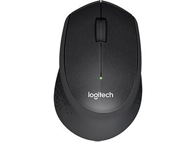 Logitech Μ330 Silent Plus Ασύρματο Ποντίκι - Μαύρο