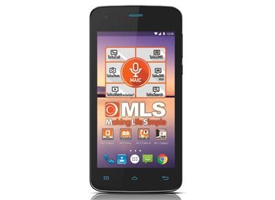 4G Smartphone MLS Color Mini - Dual Sim Μαύρο