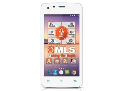 MLS Color Mini - Dual Sim Λευκό - 4G Smartphone