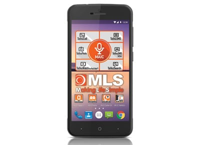 "MLS Fashion 8C 5"" Μαύρο Dual Sim Smartphone"