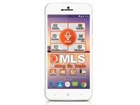 """MLS Fashion 8C 5"""" Λευκό Dual Sim Smartphone"""