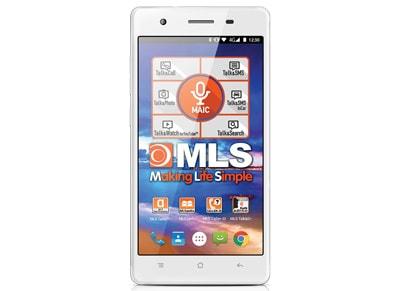 4G Smartphone MLS Diamond 8C Fingerprint 32GB Ασημί