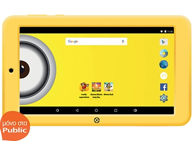 "eStar Themed 7"" με θήκη Minions - Tablet 7"" 8GB"