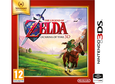The Legend of Zelda Ocarina of Time Selects - 3DS Games