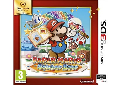 Paper Mario: Sticker Star Selects - 3DS Game