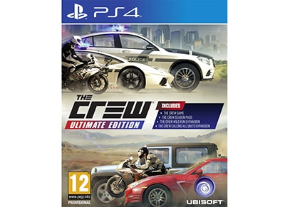PS4 Used Game: The Crew Ultimate Edition gaming   used games   ps4 used