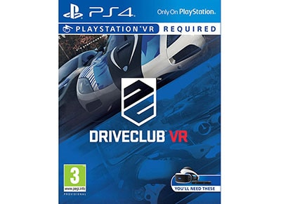 PS4/PSVR Used Game: VR DriveClub gaming   used games   ps4 used