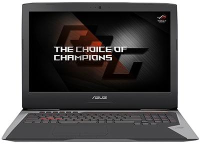 "Laptop Asus ROG G752VS-BA171T - 17.3"" (i7-6700HQ/16GB/1256GB/GTX1070)"