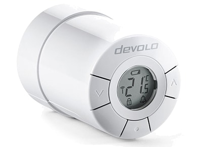 Θερμοστάτης Devolo Home Control Radiator Thermostat Λευκό