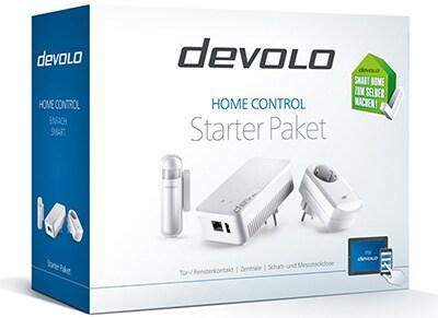 Αυτοματοποιητής Σπιτιού Devolo Home Control Starter Pack Λευκό