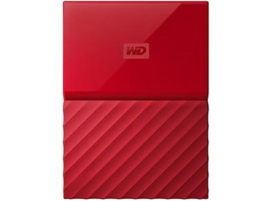 """Εξ. σκληρός δίσκος WD My Passport 1ΤΒ 2.5"""" USB 3.0 Κόκκινο"""