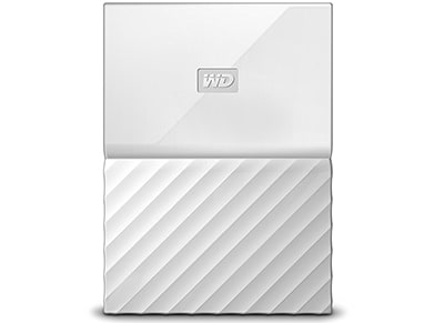 """Εξ. σκληρός δίσκος WD My Passport 1ΤΒ 2.5"""" USB 3.0 Λευκό"""