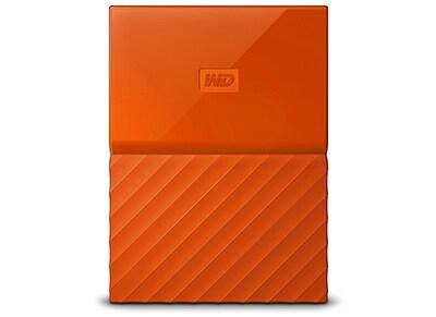 """Εξ. σκληρός δίσκος WD My Passport 1ΤΒ 2.5"""" USB 3.0 Πορτοκαλί"""