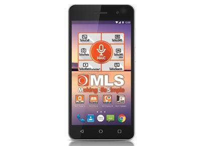 4G Smartphone MLS Wave - Dual Sim Ασημί