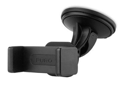 Βάση Στήριξης Παρμπρίζ Αυτοκινήτου - Puro Universal car holder Μαύρο τηλεφωνία   tablets   αξεσουάρ κινητών   βάσεις   docking station