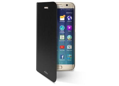 Θήκη Samsung Galaxy S7 Edge - Puro Book Wallet Μαύρο τηλεφωνία   tablets   αξεσουάρ κινητών   θήκες