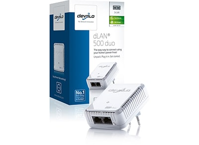 Powerline Devolo dLAN 500 duo 9119 - 500Mbps
