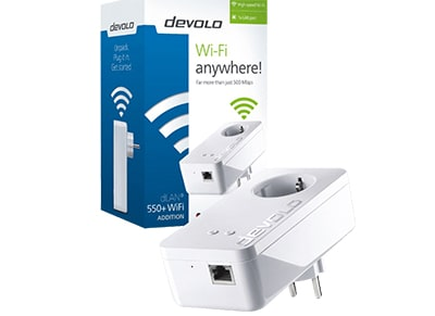 Powerline Devolo dLAN 550+ WiFi 9832 - 500Mbps