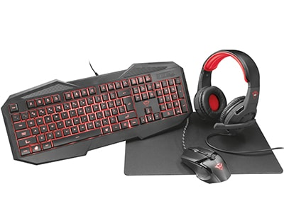 Trust Gaming Accessories Bundle 21901 - Αξεσουάρ Gaming