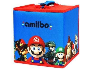 Hori Amiibo Travel Case - Τσάντα Μεταφοράς Amiibo (8 φιγούρες) gaming   αξεσουάρ κονσολών   ps3    φιγούρες παιχνιδιού