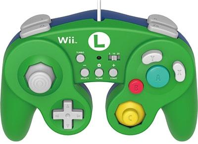 Hori Battle Pad Luigi - Χειριστήριο Nintendo Wii U Πράσινο