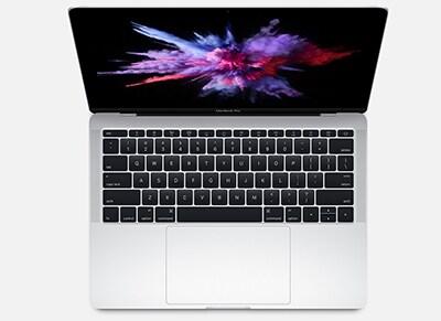 "Laptop Apple MacBook Pro 13.3"" MLUQ2ZE/A - Silver"