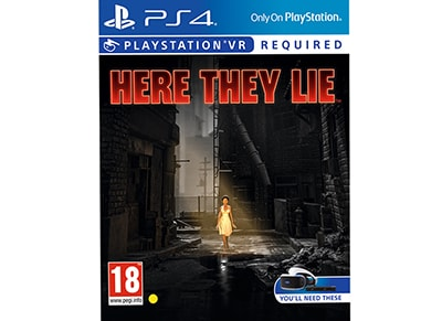 Here They Lie - PS4/PSVR Game gaming   παιχνίδια ανά κονσόλα   ps4
