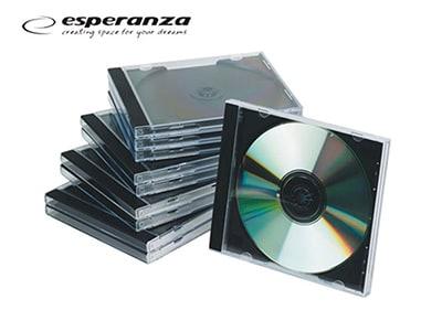 Θήκη CD/DVD - Πακέτο 25 τεμαχίων περιφερειακά   μελάνια   αναλώσιμα   θήκες cd dvd