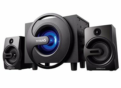 SonicGear TITAN 5 2.1 Subwoofer Speaker set - Ηχεία Bluetooth