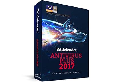 Bitdefender Antivirus Plus 2017 - 1 έτος (3 PC)