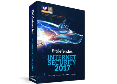 Bitdefender Internet Security 2017 - 1 έτος (1 PC)