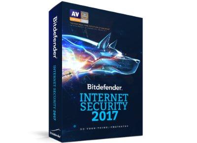 Bitdefender Internet Security 2017 - 1 έτος (3 PC) υπολογιστές   αξεσουάρ   antivirus   software   antivirus