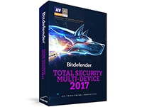 Bitdefender Total Security Multi Device 2017 - 1 έτος (10 PC/Mac/Android)