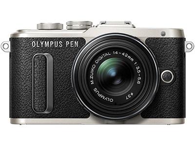 Mirrorless Camera Olympus E-PL8 Kit 14-42mm EZ Pancake - Μαύρο