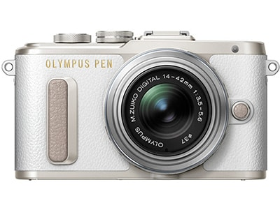 Mirrorless Camera Olympus E-PL8 Kit 14-42mm EZ Pancake - Λευκό φωτογραφία   βίντεο   mirrorless