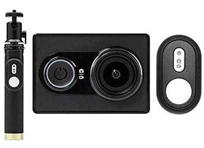 Action Cam Xiaomi Yi & Selfie Stick & Bluetooth Button Μαύρο