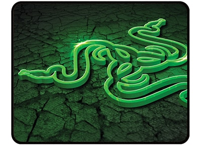 Razer Goliathus Control Fissure Edition - Mousepad - Small Πράσινο gaming   αξεσουάρ pc gaming   gaming mousepads