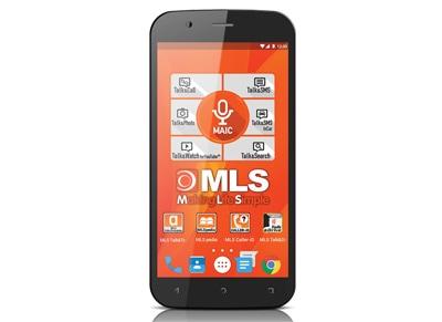 4G Smartphone MLS Titan 16GB Μαύρο