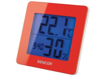 Sencor SWS15 - Ρολόι - Ξυπνητήρι - Κόκκινο