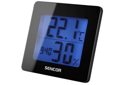 Sencor SWS15 - Ρολόι - Ξυπνητήρι - Μαύρο
