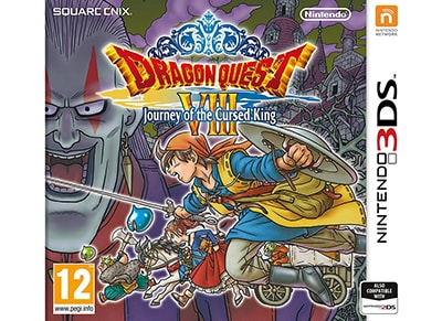 Dragon Quest VIII: Journey of the Cursed King - 3DS Game