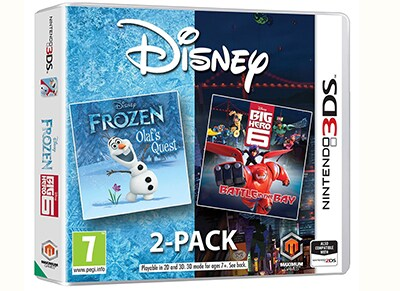 Disney Frozen & Big Hero 6 - 3DS Game