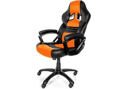 Gaming Chair Arozzi Monza Πορτοκαλί/Μαύρο