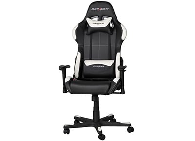 Gaming Chair DXRacer Formula OH/FD99/NW Μαύρο/Λευκό