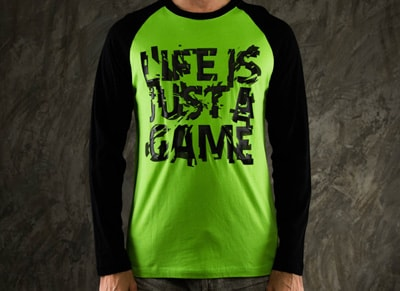 "T-Shirt Razer ""Life is just a Game"" - M gaming   gaming cool stuff"