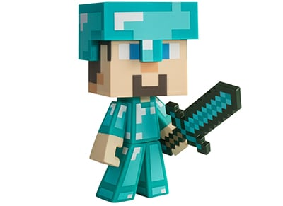 Φιγούρα Minecraft Diamond Steve