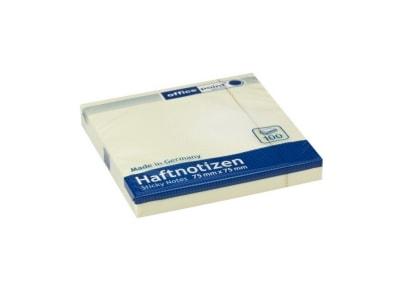 Αυτοκόλλητα Χαρτάκια Office Point FSC - 75x75mm - 100 Φύλλα Κίτρινο