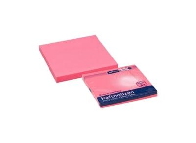 Αυτοκόλλητα Χαρτάκια Office Point - 75x75mm - 80 Φύλλα Ροζ